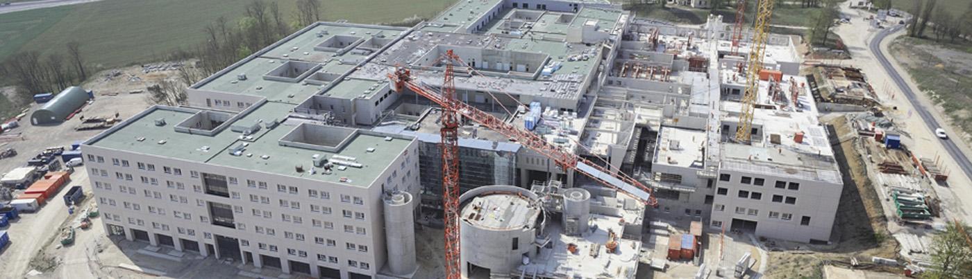 Construction de l'hôpital de Metz
