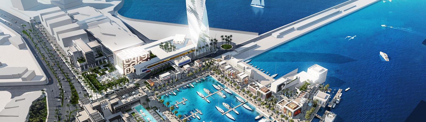 Projet New Marina Casablanca, Maroc
