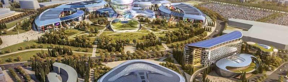 Qualiconsult contrôle un espace de l'exposition universelle Astana 2017