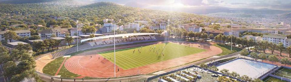 Le stade Philippe-Marcombes de Clermont Ferrand fait peau neuve