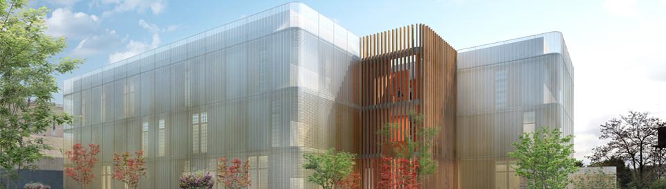 Première pierre pour la construction du Data Center Rock à Lyon 8ème