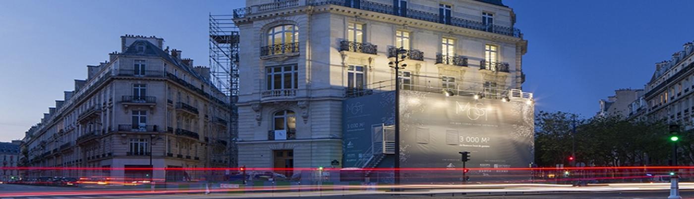 REHABILITATION D'EXCEPTION D'UN IMMEUBLE DE BUREAUX, PARIS