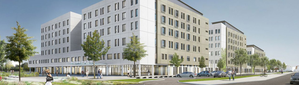 Medipole : Construction d'un site de santé unique de 60 000 m² à Villeurbanne
