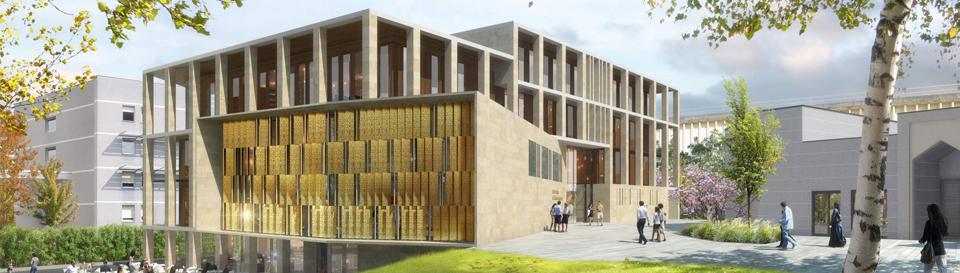 Construction de l'Institut Français de Civilisation Musulmane à Lyon