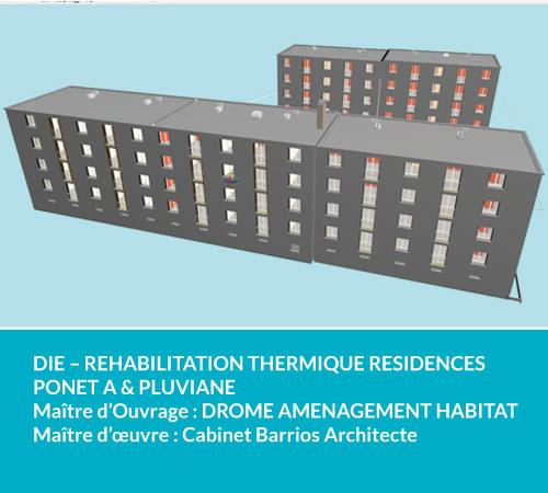 Drome amenagement habitat cabinet Barrios Architecte