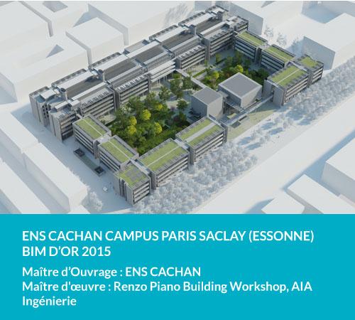 ENS Cachan campus paris Saclay (Essonne) Bim d'or 2015
