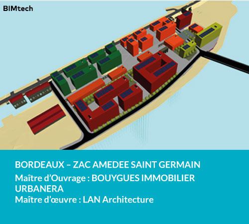ZAC Amédée Saint Germain Bordeaux