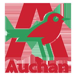 le logo d'auchan