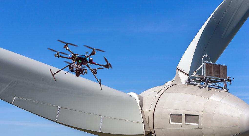 Maintenance préventive grâce au drone