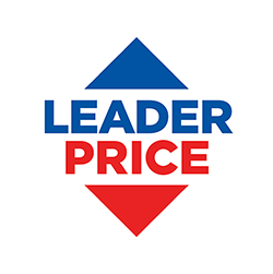 le logo de leader price